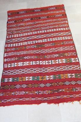 Mid Atlas Kilim rug Zemmour Tribe (No 5)
