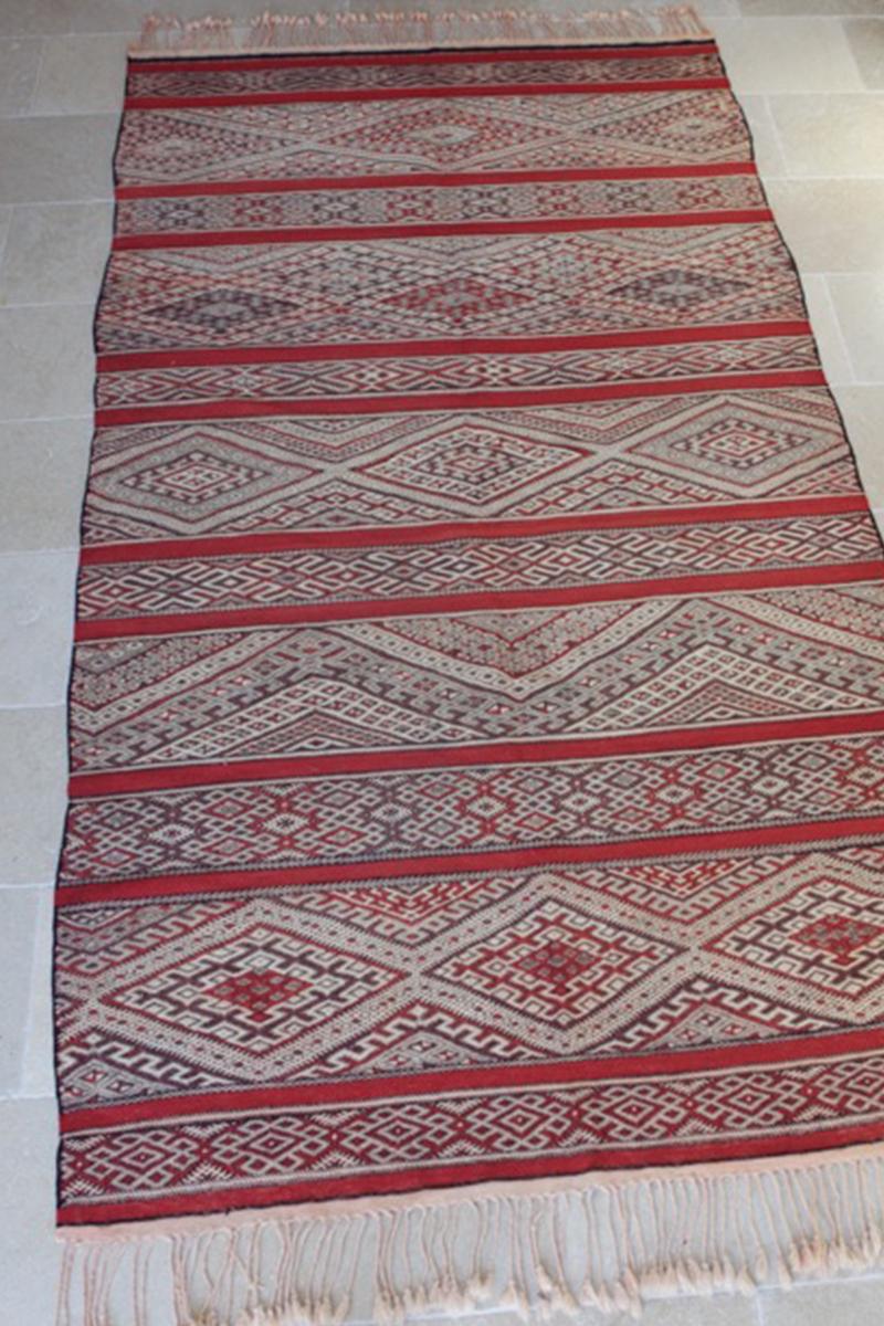 Mid Atlas Kilim rug Zemmour Tribe (No 2)