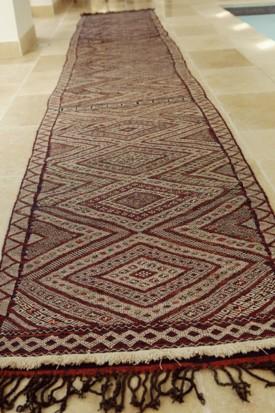 Mid Atlas antique Kilim rug (Runner) BeniMguild Tribe (no8)