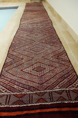 Mid Atlas antique Kilim rug (Runner) BeniMguild Tribe (no16)