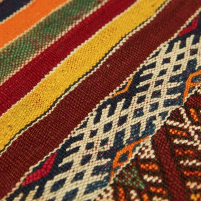 Mid Atlas antique Kilim rug Zemmour Tribe (no 12)_swatch