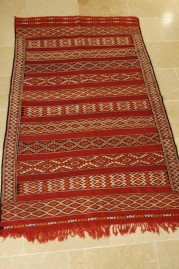 Mid Atlas antique kilim rug Zemmour Tribe (no 19)