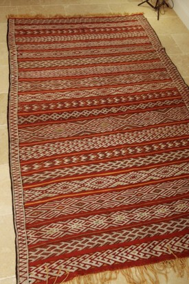 Mid Atlas antique kilim rug Zemmour Tribe (no 15)