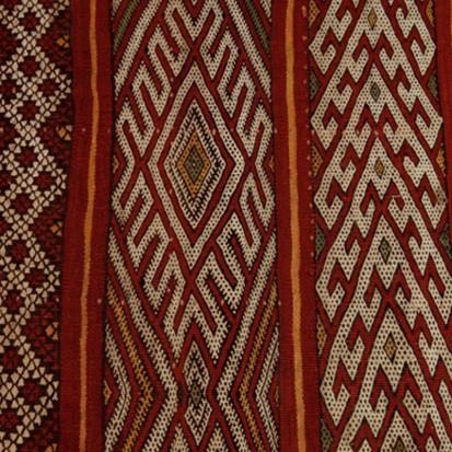 Mid Atlas antique kilim rug Zemmour Tribe (no 15)_swatch