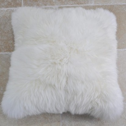 Sheepskin Cushion Natural Shaggy