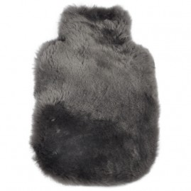 Mouse Grey Sheepskin Hot Water Bottle covers